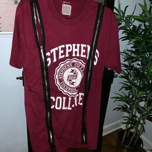 Lf furst of a kind zip t shirt
